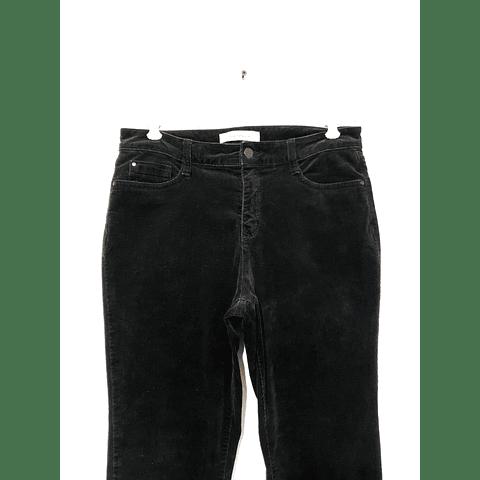Pants cotelé CROFT&BARROW negro talla 42