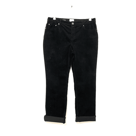 Pants cotelé ST JOHNS BAY negro TALLA 44