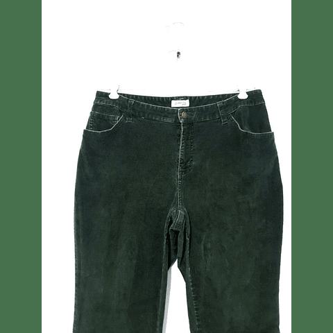 Pants cotelé ST JOHNS BAY verde talla 44