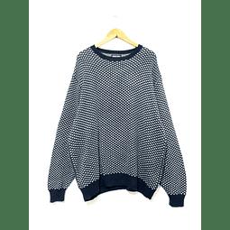 Sweater vintage LANDS END azul marino