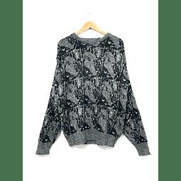 Sweater vintage MICHAEL GERALD gris