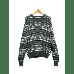 Sweater vintage DOCKERS gris