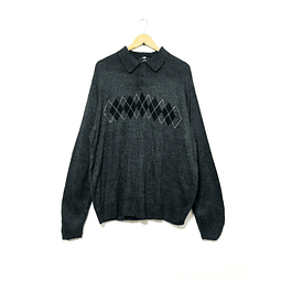 Sweater vintage DOCKERS grafito