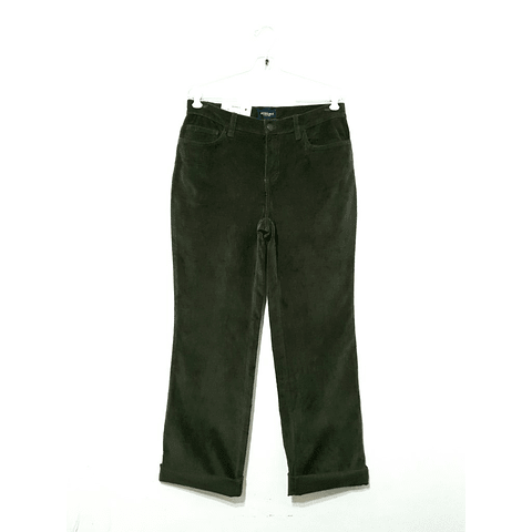 Pantalon Cotele SONOMA verda talla 40