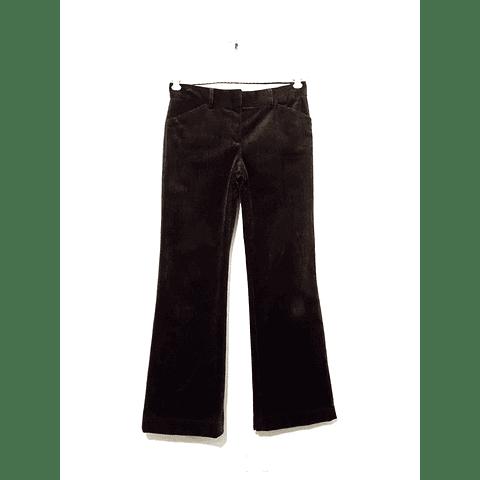 Pantalon Cotele Y2K THEORY marron talla 34