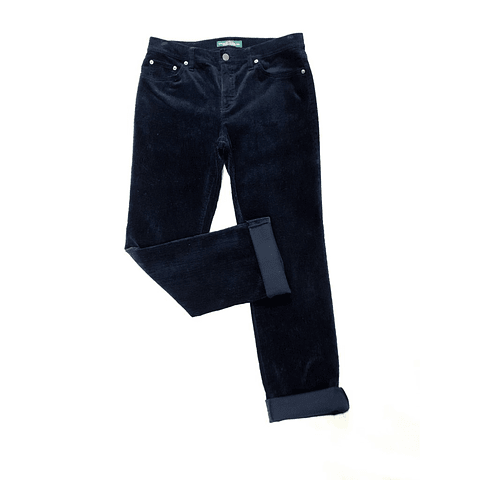 Pants cotele azul marino RALPH LAUREN talla 38