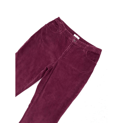Pants cotele burdeo ST JOHNS BAY talla 38