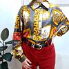 Camisa vintage de seda LUCIANO TEMPESTA