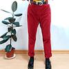 Pants cotele rojo LIZ CLAIBORNE  talla 42
