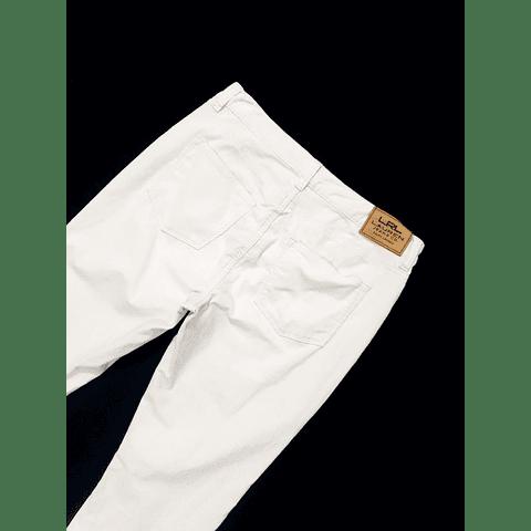 Pants cotele vintage blanco RALPH LAUREN talla 38