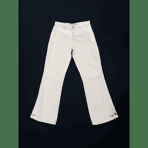 Pants flare beige AMERICAN EAGLE talla 38