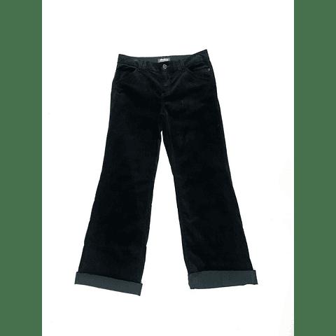 Pants velvet vintage Y2K EDDIE BAUER negro talla 38
