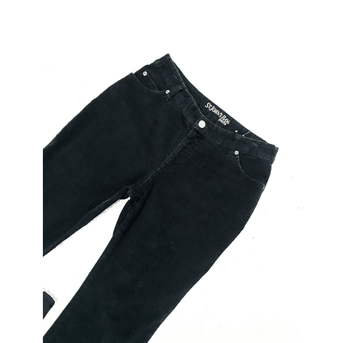 Pants cotele vintage ST JOHNS BAY negro talla 36-38