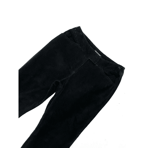Pants cotele vintage NY&C negro talla 36