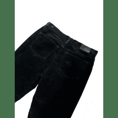 Pants cotele vintage CHAPS negro talla 36
