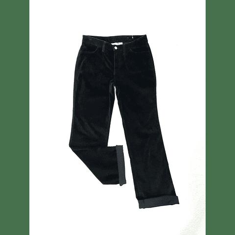 Pants velvet vintage SONOMA negro TALLA 36