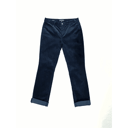 Pants cotele vintage TALBOTS azul marino TALLA 38