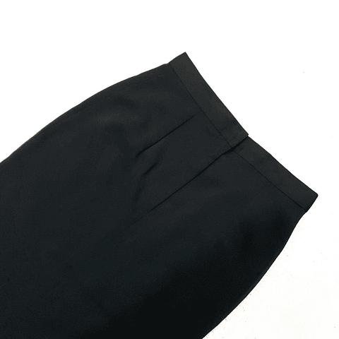 Falda midi NEGRA talla 40
