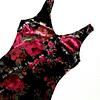 Vestido vintage veñvet floreado ASTR talla XS