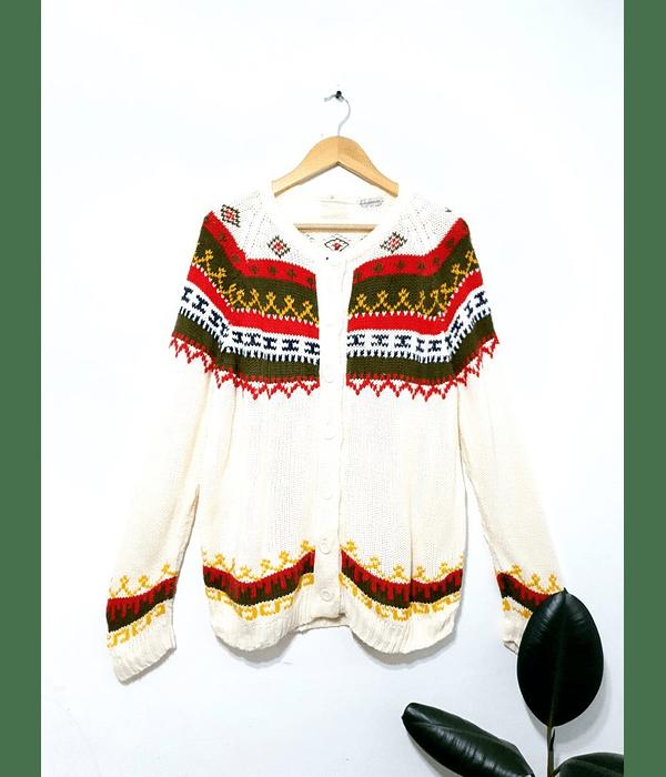 Sweater cardigan vintage CAROL