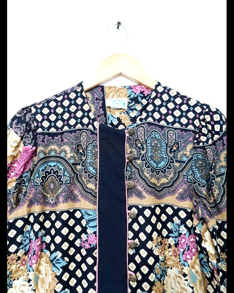 Camisa vintage LADY CAROL talla S-M