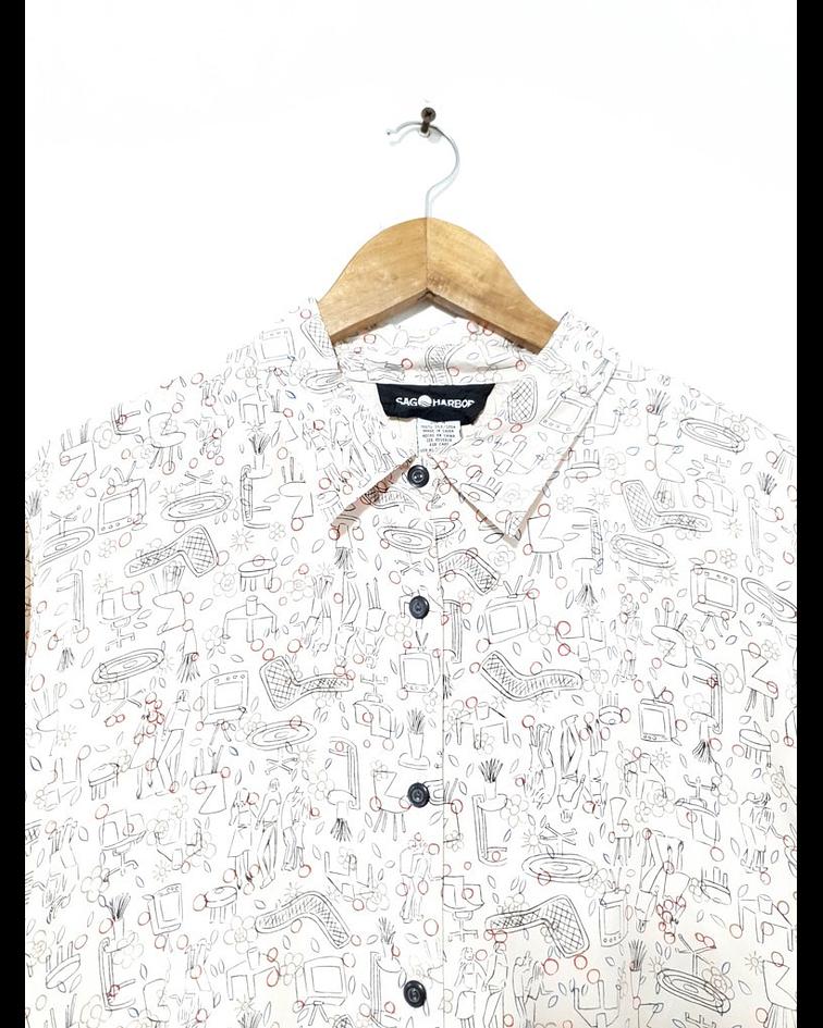 Camisa vintage SAG HARBOR talla XL