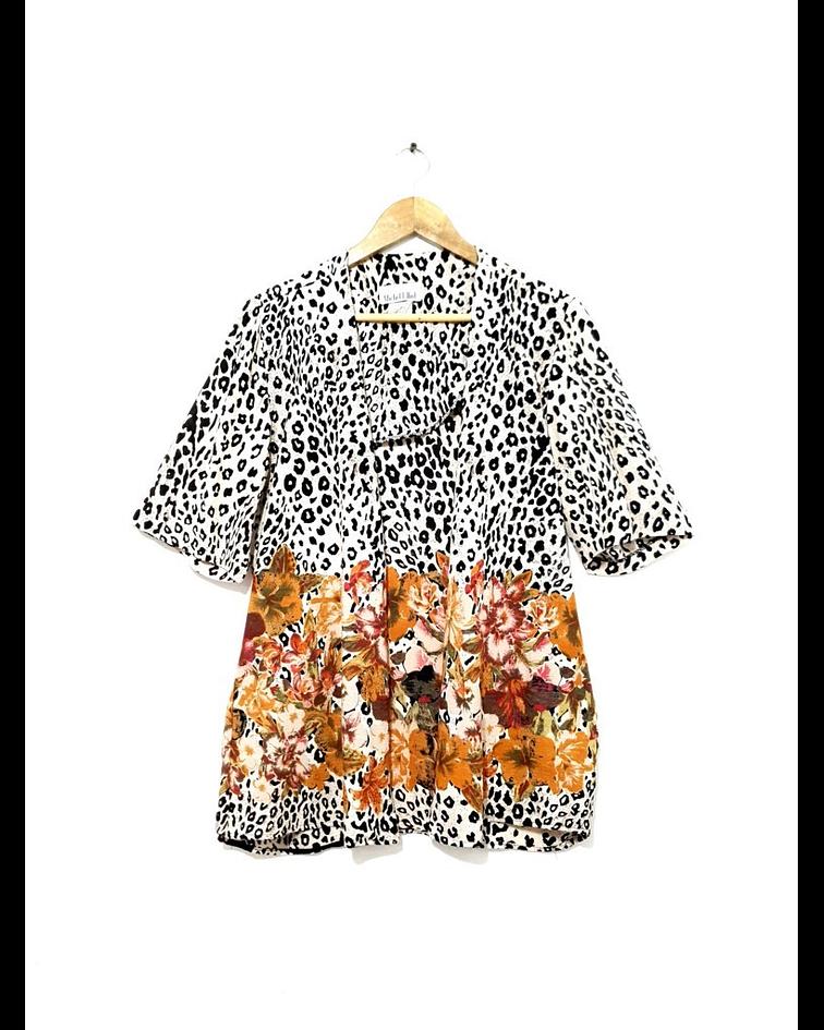 Kimono vintage MICHELLE ELLIOT talla M