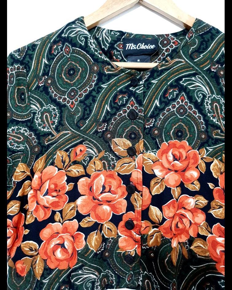 Blusa vintage MS CHOICE talla S-M