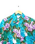 Guayabera vintage de seda TESS talla M