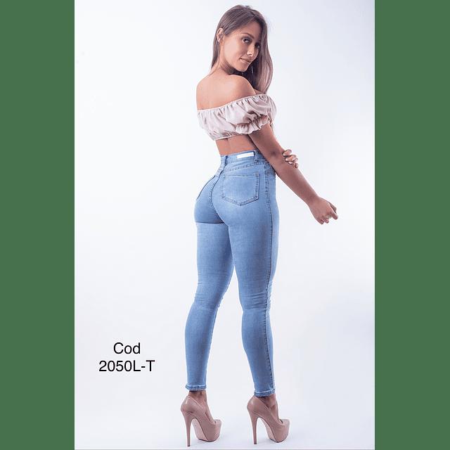 Jeans pitillo cod 2050L-T