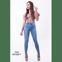 Jeans pitillo cod 201203 T