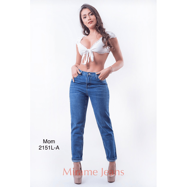 Jeans mom cod. 2151L-A