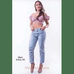 Jeans mom cod. 2151L-TA