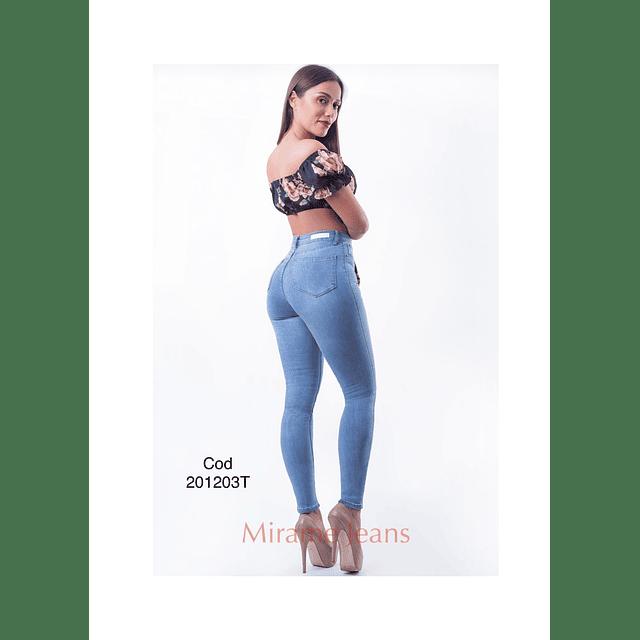 Jeans pitillo cod. 201203-T