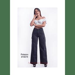 jeans palazzo cod. 2156- N