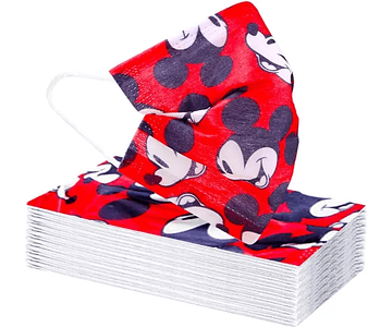 Mascarillas desechables Mickey Mouse