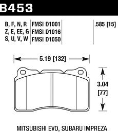 Hawk Performance HPS 5.0 Golf GTI MK7