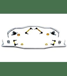 Kit barras estabilizadoras Whiteline Mustang 15+