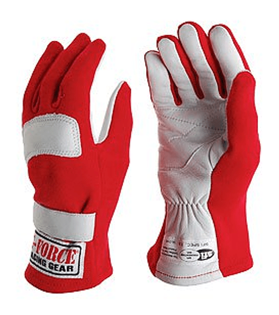 Guantes G-Force G5 M Rojo