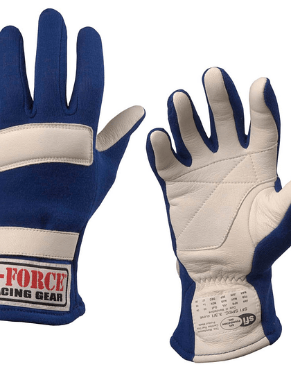 Guantes G-Force G5 XL Azul