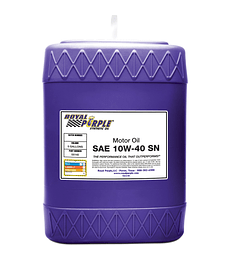 SAE 10W40 API SN ROYAL PURPLE