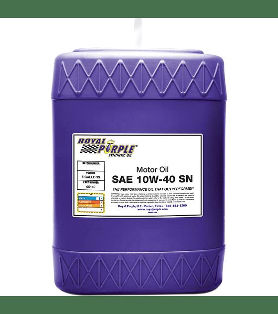Aceite de motor SAE 10W40 API SN ROYAL PURPLE
