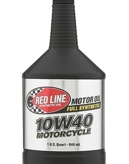 Aceite para moto 10W40 RED LINE