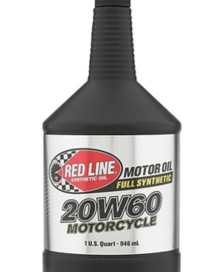 Aceite para moto 20W60 RED LINE