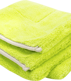 Green Drying Towel