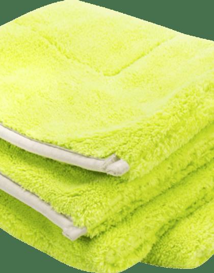 Green Drying Towel