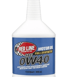 0W40 RED LINE