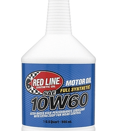 10W60 RED LINE
