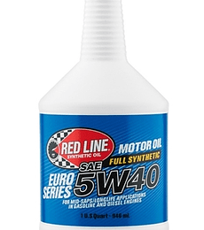 EURO 5W40 RED LINE