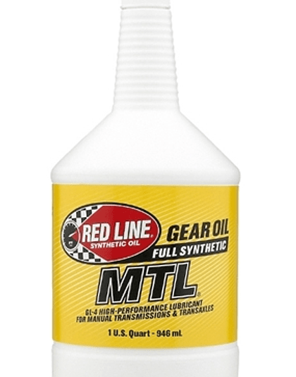 MTL 75W80 GL-4 RED LINE